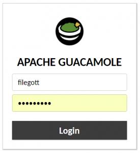 Installing Apache Guacamole using Docker on QNAP NAS (x86